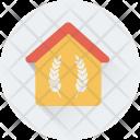 Farmhouse House Cottage Icon