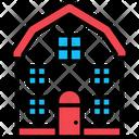 Farmhouse Home House Icon