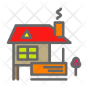 Farmhouse Farm House Icon