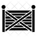 Farmhouse Gate Icon
