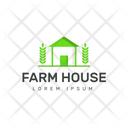 Farmhouse Logo Icon