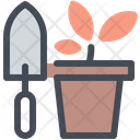 Farming Gardening Tools Icon