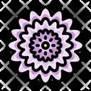 Farming And Gardening Chrysanthemum Blossom Icon