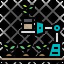 Robot Plants Arm Icon