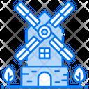 Farming Windmill Icon