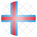 Faroe Islands Country Icon
