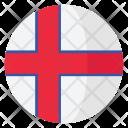 Faroe Island Flag Icon