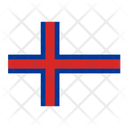 Faroe Islands Flag Flags Icon