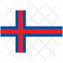 Flag Country Faroe Islands Icon