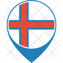 Faroe Islands Flag Icon