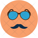 Fashion Face Glasses Icon