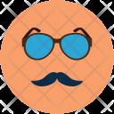 Fashion Face Glasses Icon