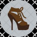 Fashion Sandal Shoes Icon
