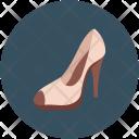 Fashion Shoe Lady Icon