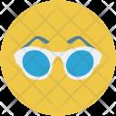 Fashion Glasses Glare Icon