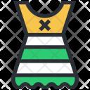 Fashion Short Dress Icon