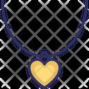 Fashion Accessory Heart Necklace Jewelry Icon