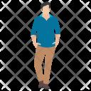 Fashion Man Icon
