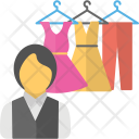 Fashion Clothes Store Icon
