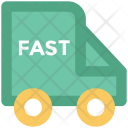 Fast Delivery Van Icon