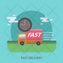 Fast Delivery Car Icon