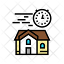 Fast Building House Icon