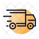 Fast Delivery Transportation Truck Icon