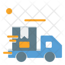 Fast Delivery Delivery Truck Parcel Icon