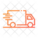 Fast Delivery Delivery Truck Truck Icon