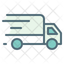 Fast Delivery Shipping Truck Icon