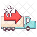 Fast Delivery Fast Shipment Logistic Delivery Icon