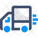 Fast Delivery Quick Delivery Delivery Truck Icon