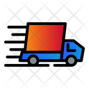 Fast Car Delivery Icon