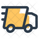 Fast Delivery Transportation Courier Icon