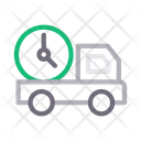 Fast Delivery Truck Icon