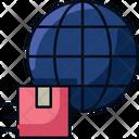 Worldwide Shipping Global Logistics Worldwide Icon