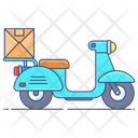 Fast Delivery On Time Delivery Logistic Delivery Icon