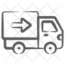 Cargo Truck Delivery Truck Goods Delivery Icon