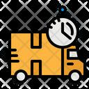 Truck Delivery Logistics Icon