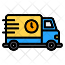 Fast Delivery Delivery Delivery Truck Icon