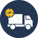 Fast Delivery Cargo Delivery Truck Icon