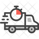 Fast Delivery Truck Shipping Icon