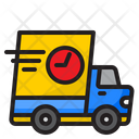 Fast Delivery Truck Transporation Icon