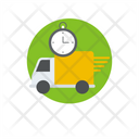Express Delivery Fast Delivery Timely Delivery Icon