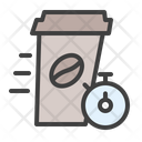 Fast Delivery Coffee Icon