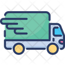 Fast Delivery Services Logistic On Time Icon