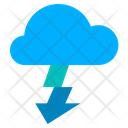 Fast Download Download Download From Cloud Icon