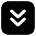 Fast Downward Arrow Icon