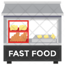 Fast Food Food Stall Food Point Icon