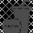 Burgur Drink Cold Drink Icon